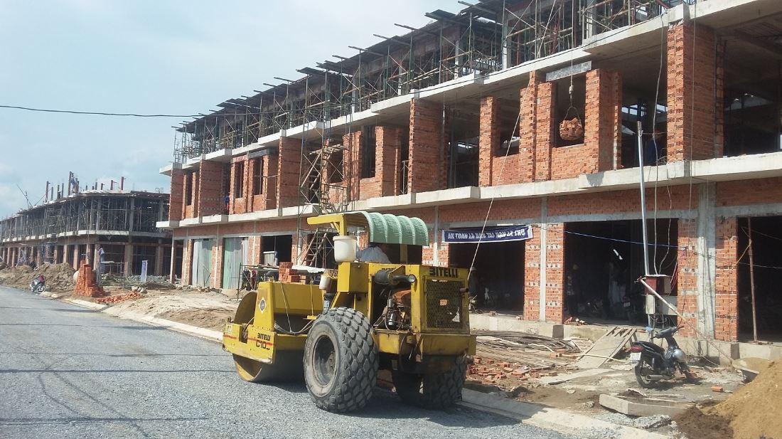 Tiến độ xây dựng tại dự án Phúc An City