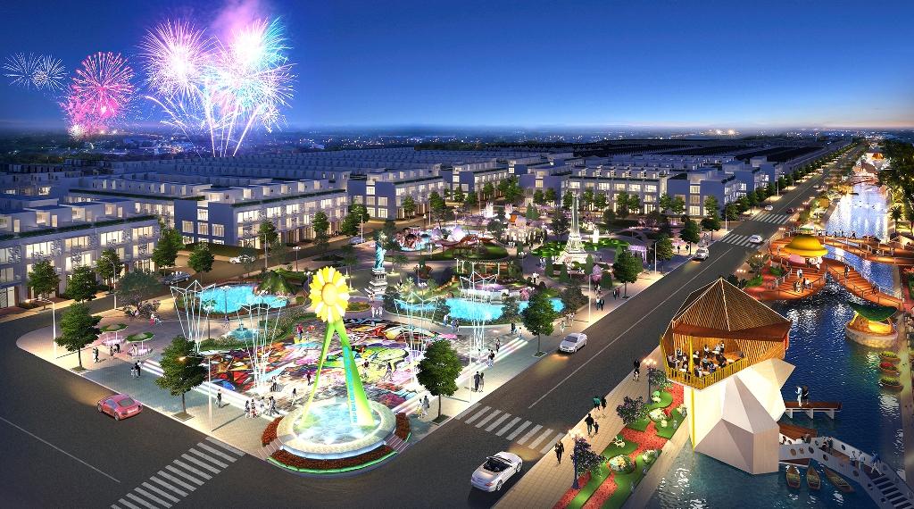 Công viên giải trí tại dự án Phúc An City