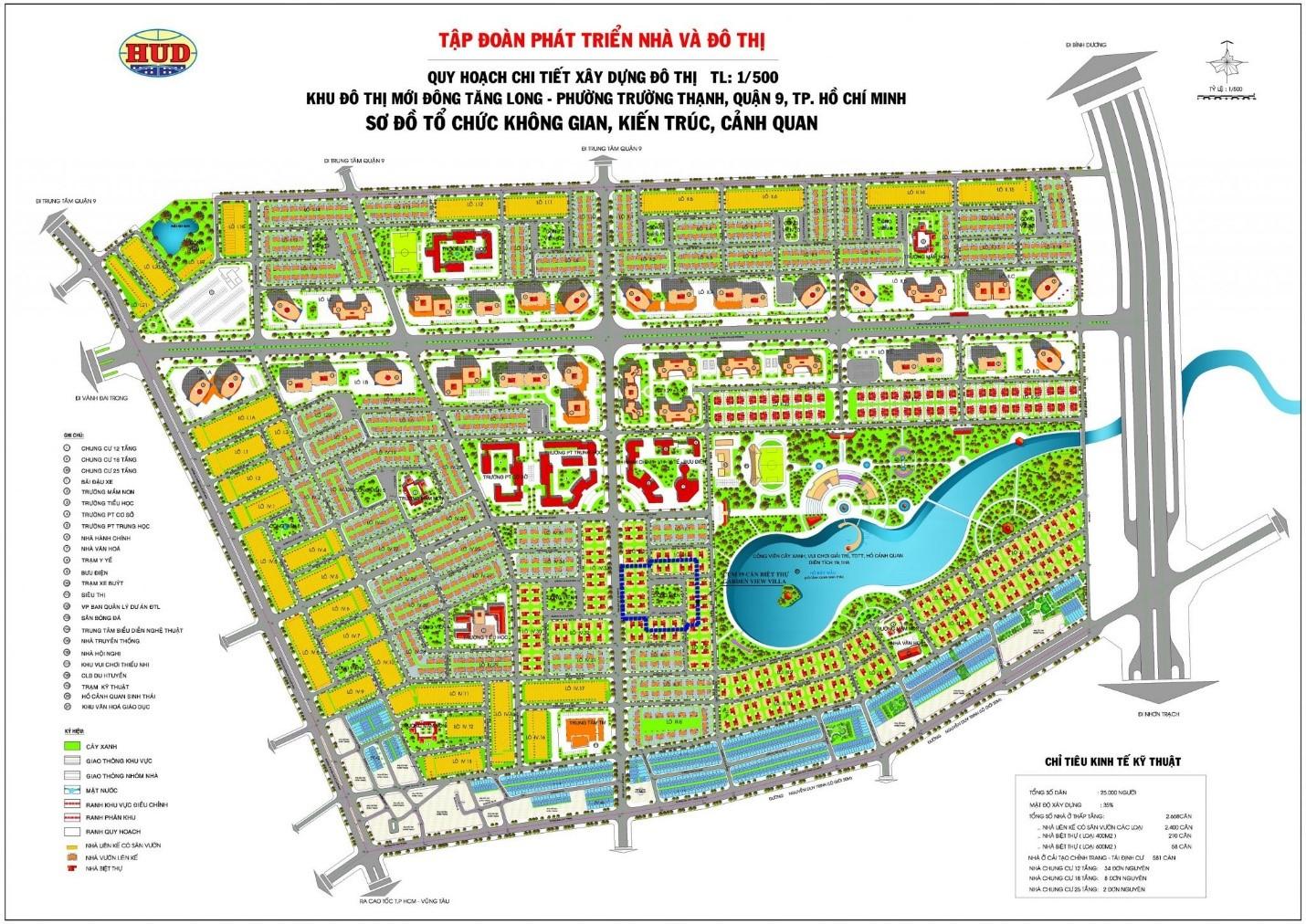 Phân biệt các loại bản đồ quy hoạch 1-500