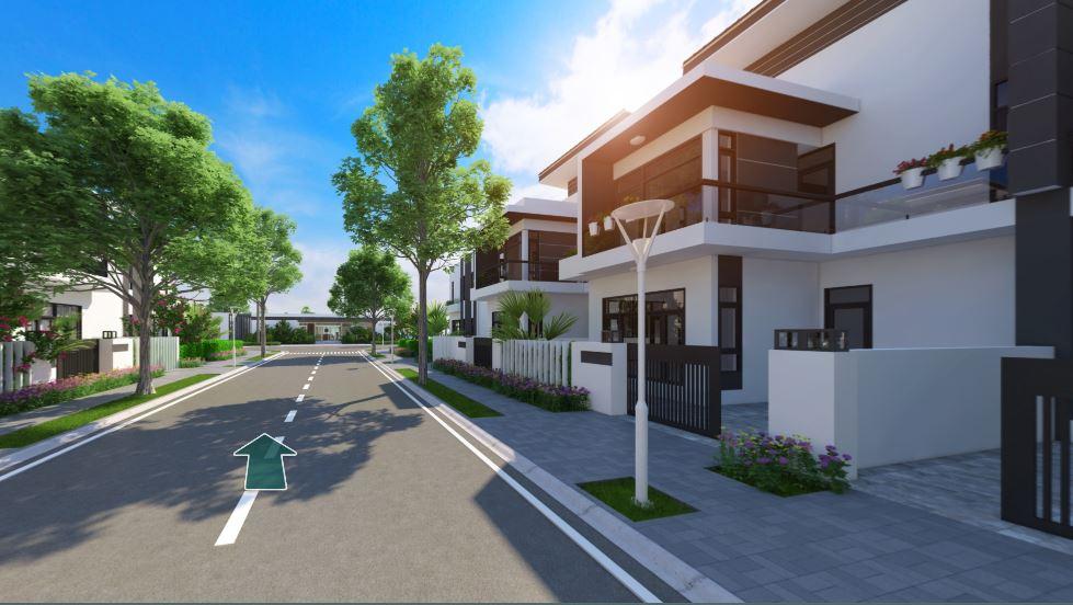 Dự án Bella Villa với thiết kế tiện nghi, hiện đại