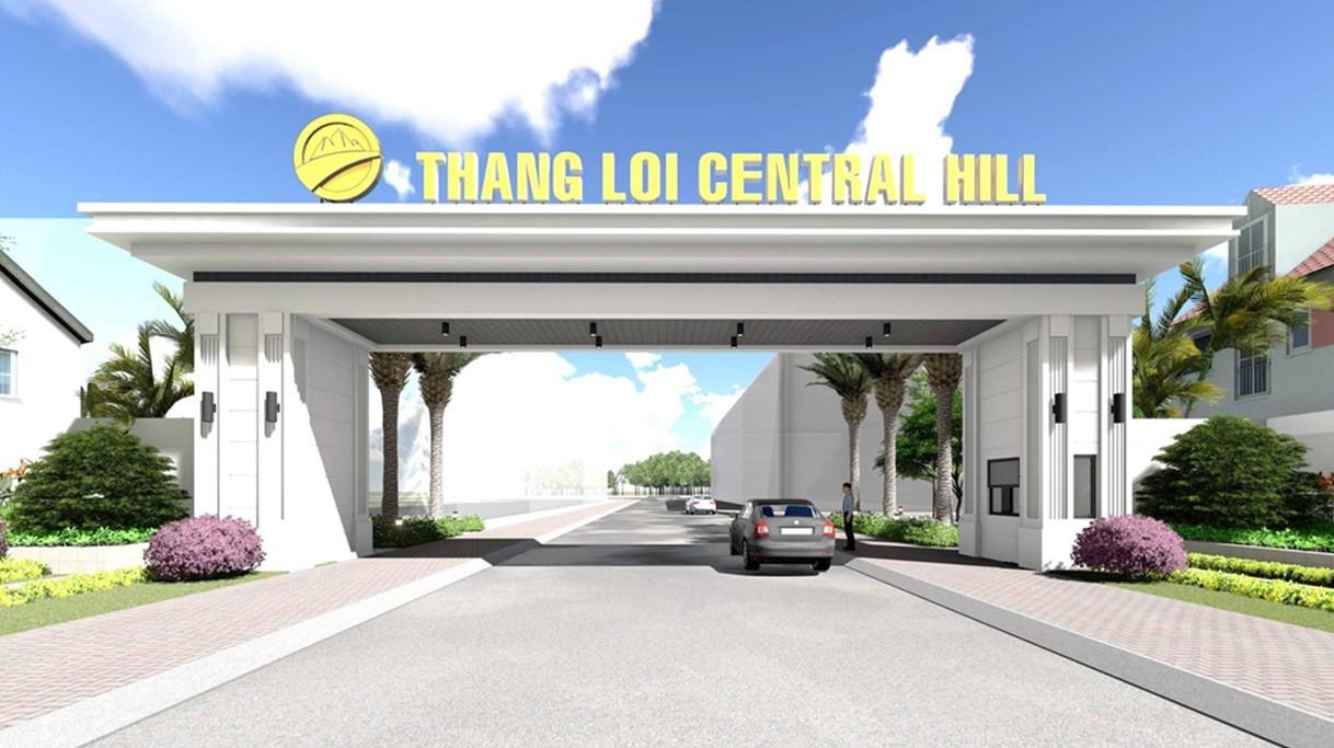 Cổng vào dự án Thắng Lợi Central Hill