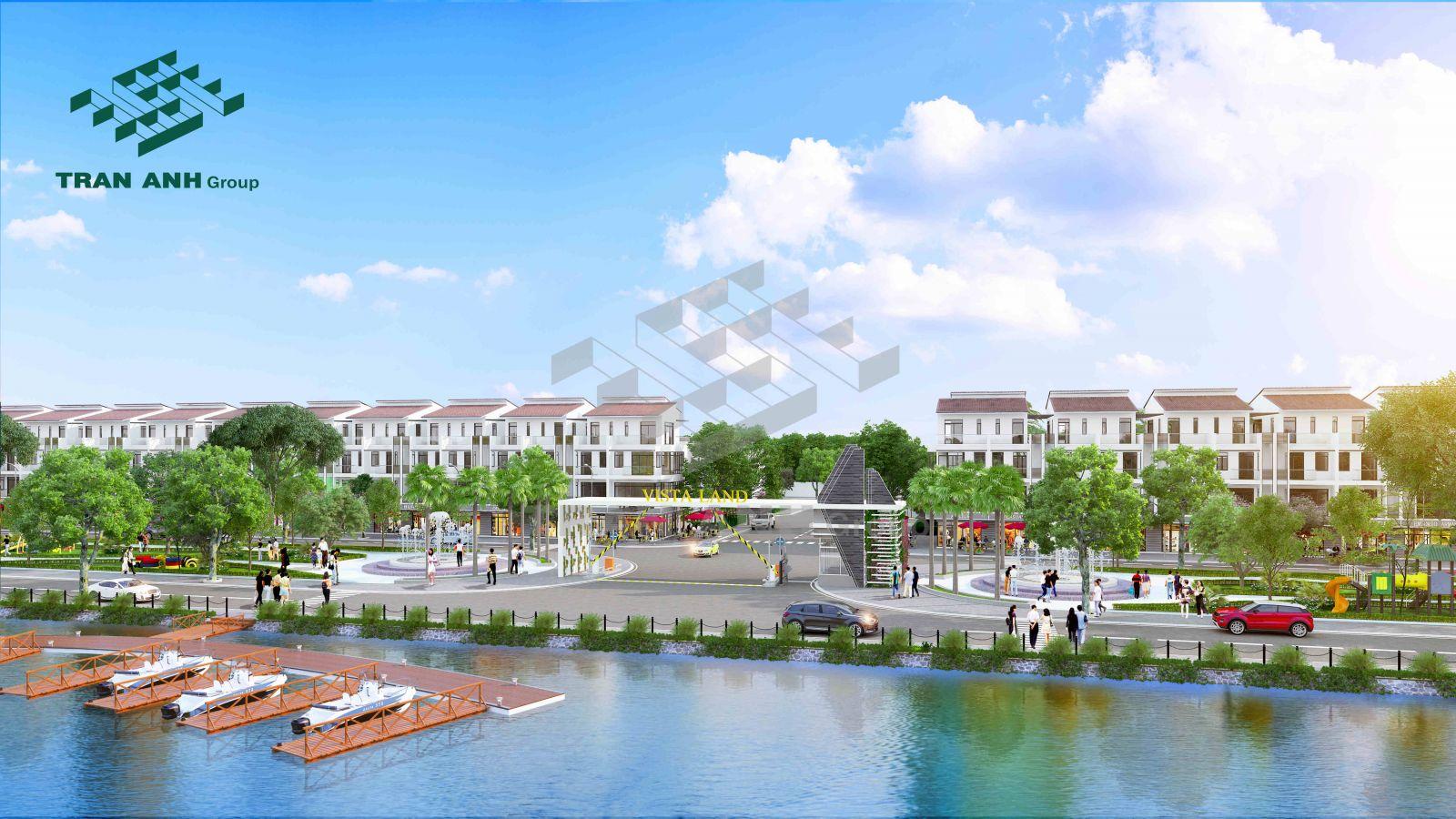 Phối cảnh dự án khu đô thị Vista Land