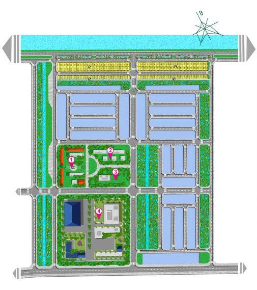 Phân lô dự án Vista Land