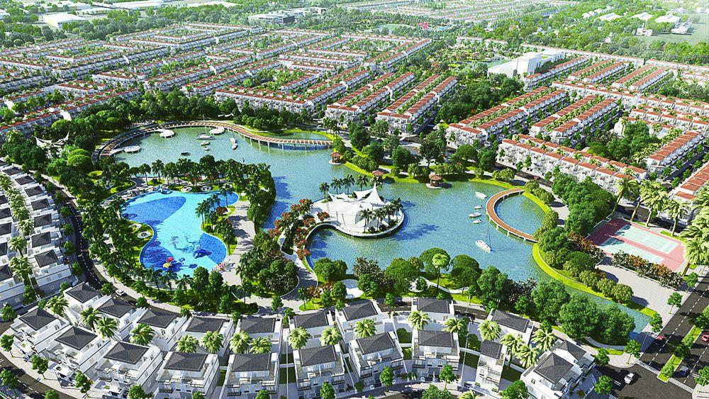 Hồ sinh thái tại dự án Phúc An City