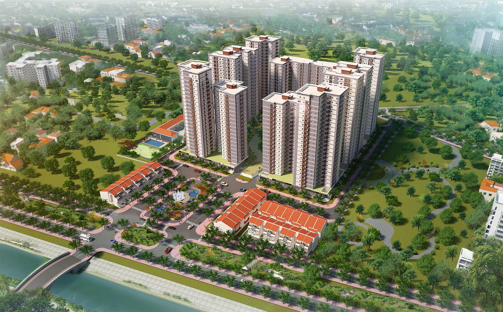 Căn hộ Vision 1 quận Bình Tân