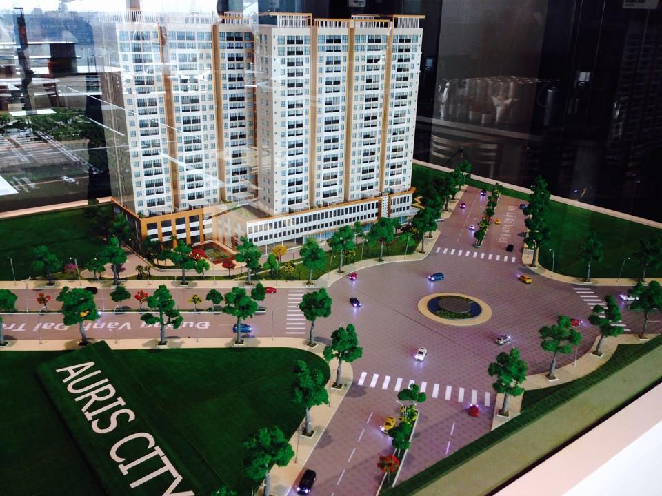 Thiết kế tổng thể của căn hộ Auris City