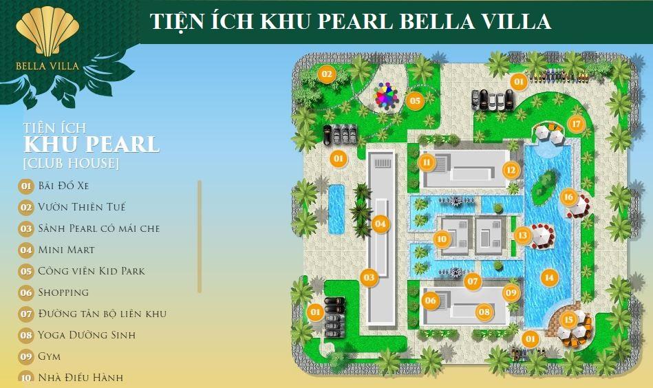 Tiện ích bên trong dự án Bella Villa
