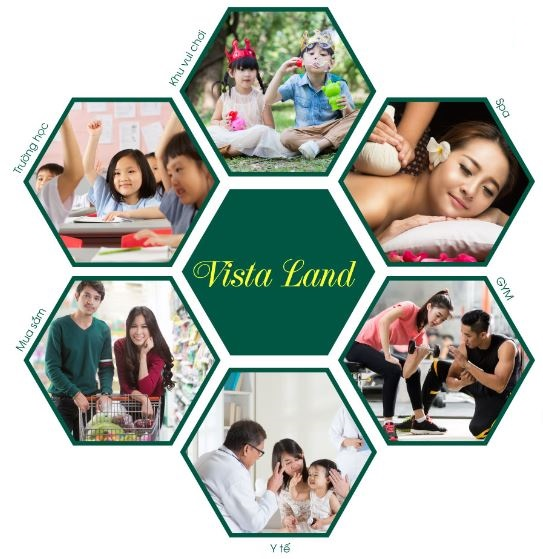 Tiện ích tại khu đô thị Vista Land